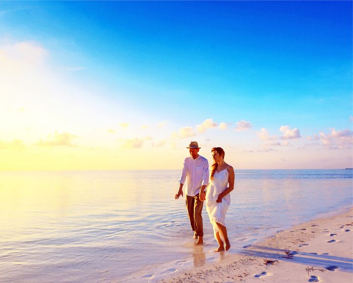 Maldives,Loving one another - Angelo