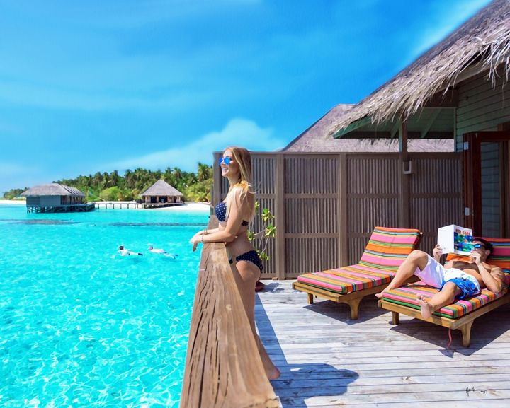 Sunny Side Of Maldives - Angelo