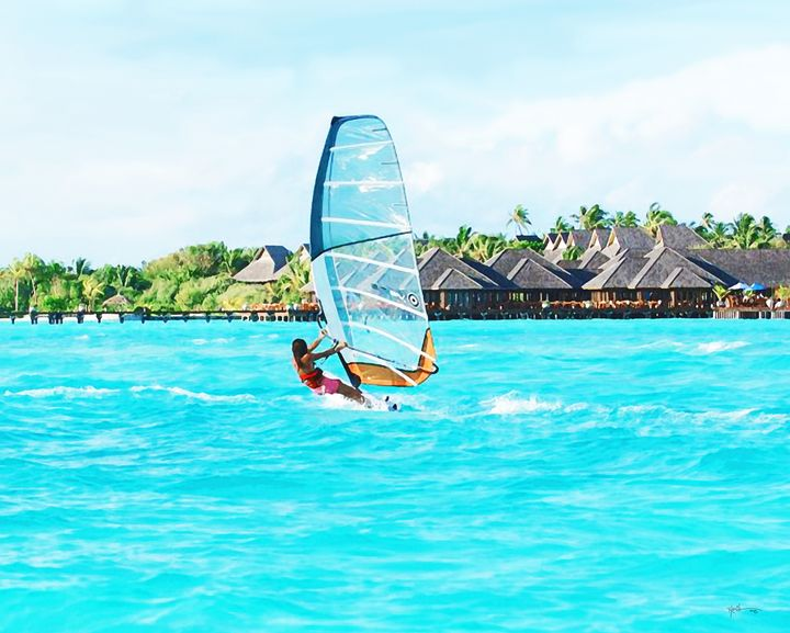 Water Sports Activity In Beaches Of - Angelo