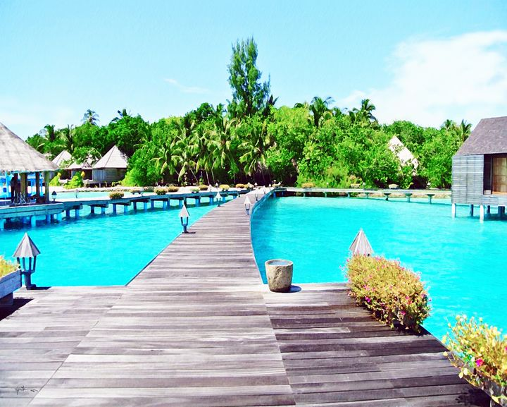 Pathway To Water Villas/maldives - Angelo