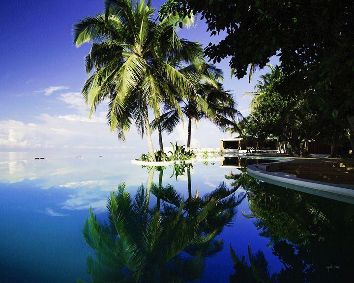 Pool Side/maldives - Angelo