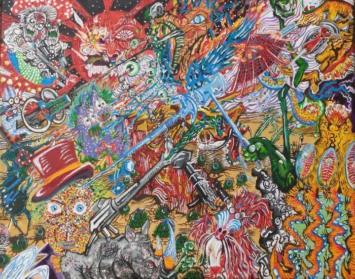 Lobotomy of the Imagination - Weird&Vibrant