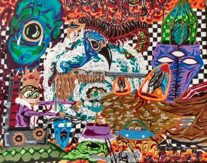 Bear Witness Unto Madness - Weird&Vibrant
