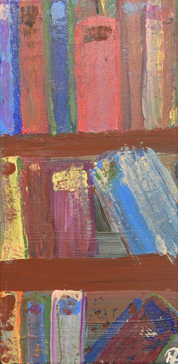 Bookshelves - Morgan Rhodes Abstract Art