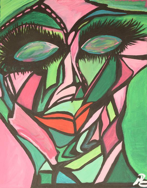 Diva - Morgan Rhodes Abstract Art