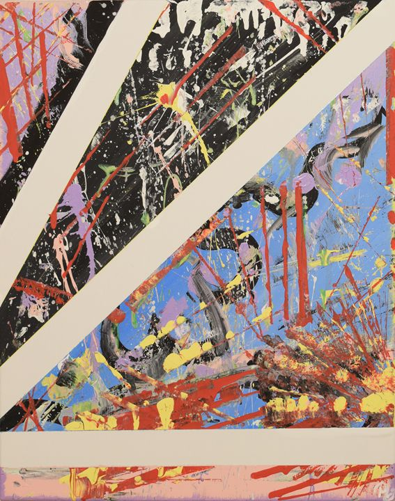 Splatter Sequel - Morgan Rhodes Abstract Art