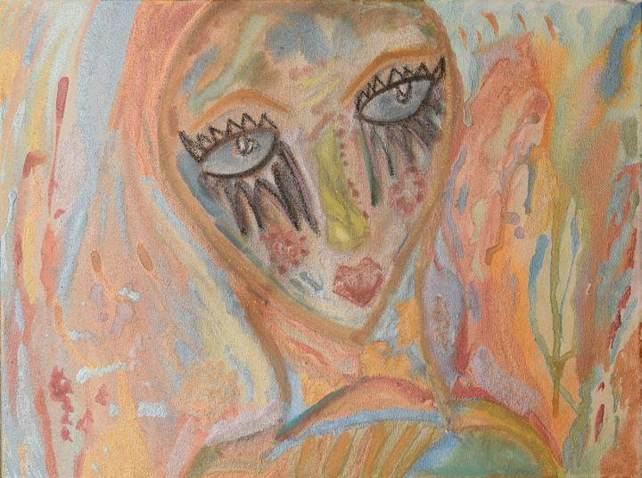 Watercolor Diva - Morgan Rhodes Abstract Art