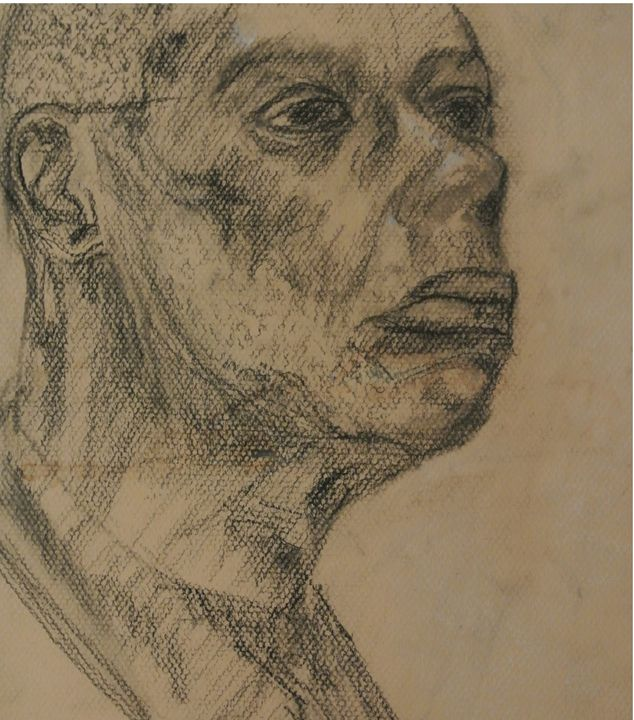 Portrait of a Man - Vida Artista Design