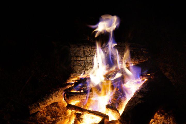 Unique campfire flame - Michael Snow