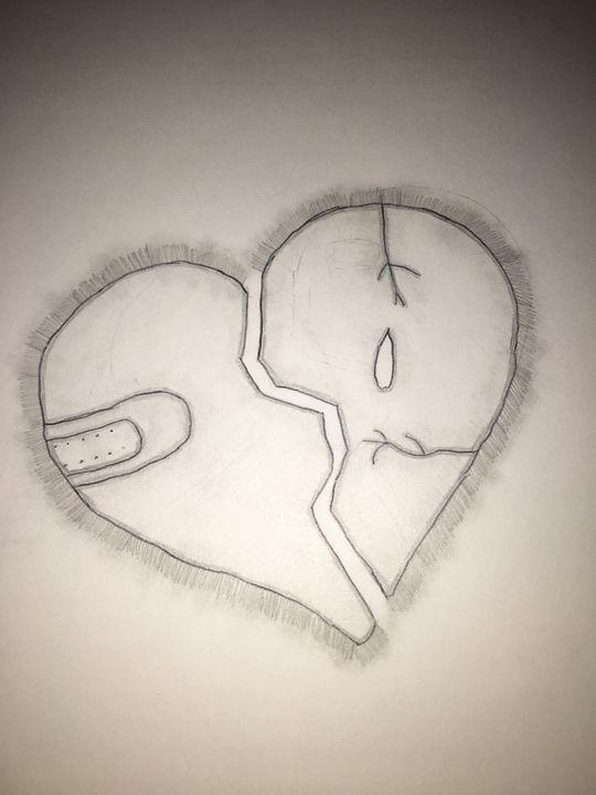 A Broken Heart - Shayla's Drawngs