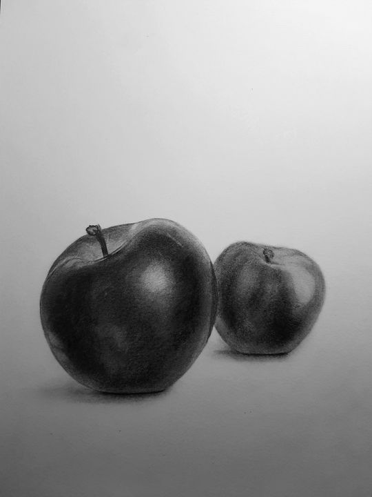 Apples in perspective - Neils cottage