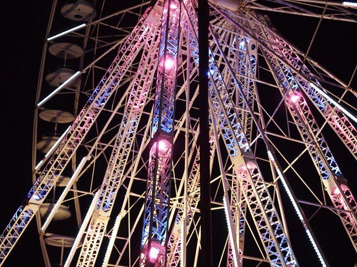 Ferriswheel at night - Symplisse Art