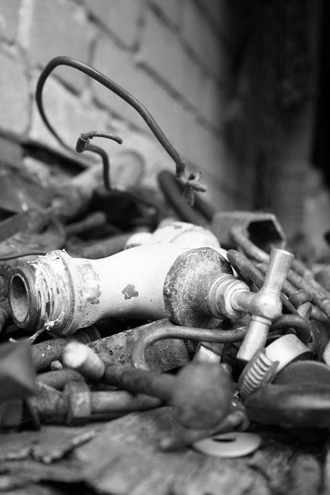 Old water faucet - Symplisse Art