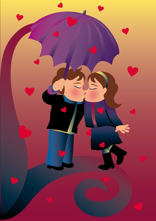 Romantic couple - Symplisse Art