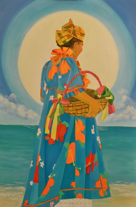 Offerings to Yemoja II - KCatia Creole Art