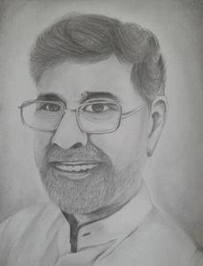 Kailash Satyarthi-Sketch