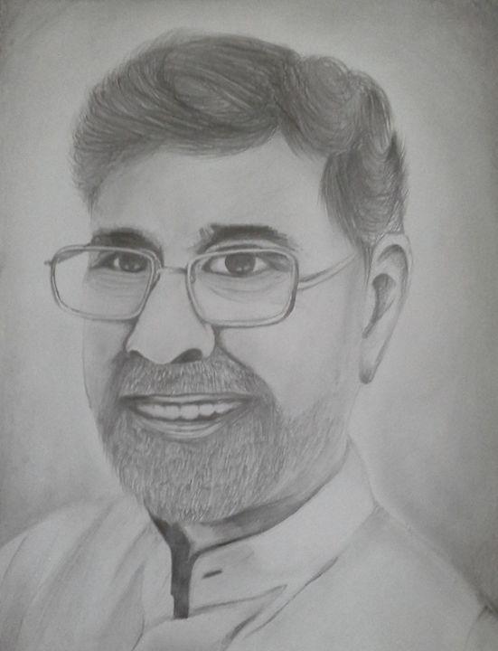Kailash Satyarthi-Sketch - Panesar