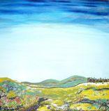 """""""Syrian Landscape"""" original oil pain"""