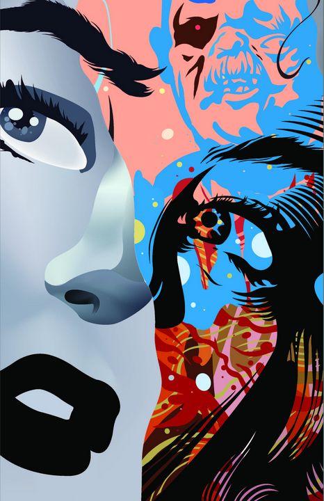 Graffiti Girl - Dandeeelle