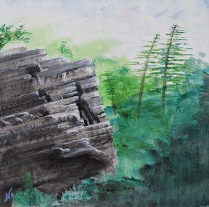Climb Me Please (Hidden Gunks Crag) - JFWOA - Joey Favino's WORLD Of Art