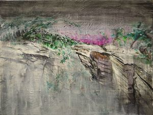 That Pre-Dawn Fog At Shingle Gully - JFWOA - Joey Favino's WORLD Of Art
