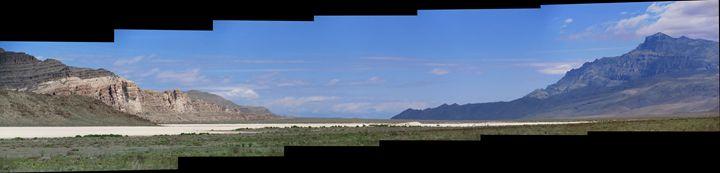 Ibex Crags, Notch Peak, Tule Valley - JFWOA - Joey Favino's WORLD Of Art