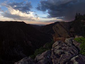 Incoming Storm at Beaver Canyon
