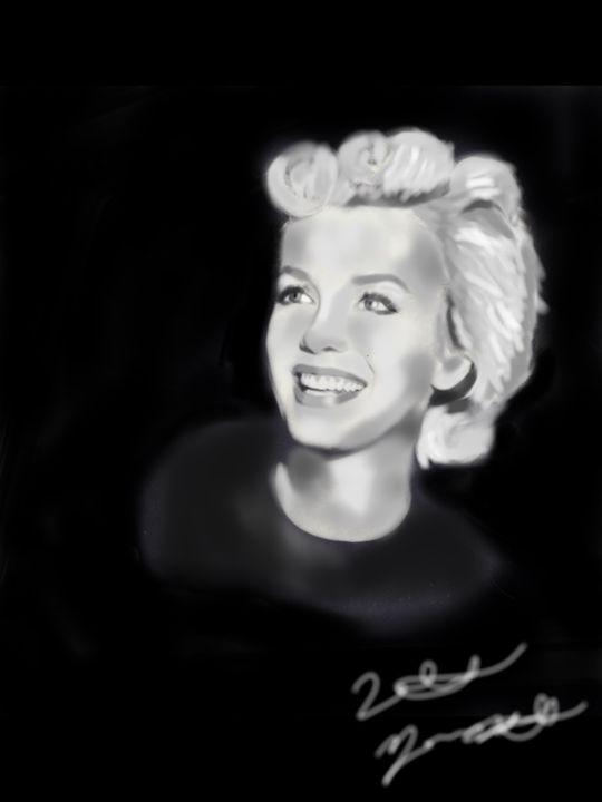 Smiling Marilyn - Natalie M