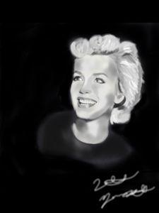 Smiling Marilyn