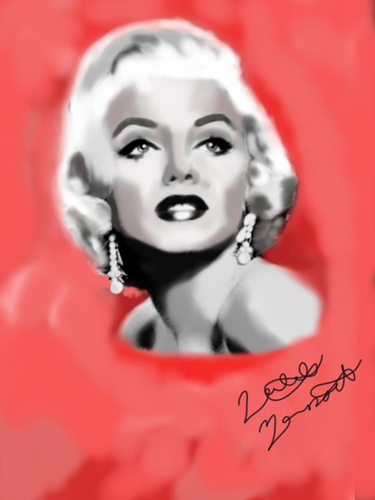 Marilyn in red - Natalie M