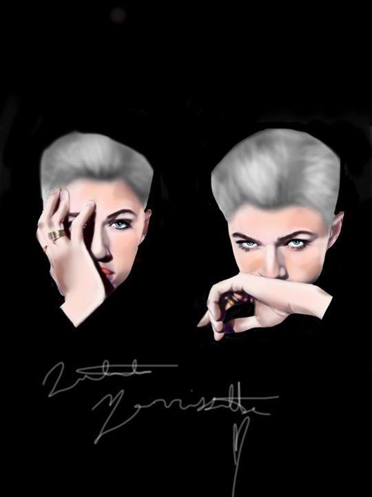 Doubled vision - Natalie M
