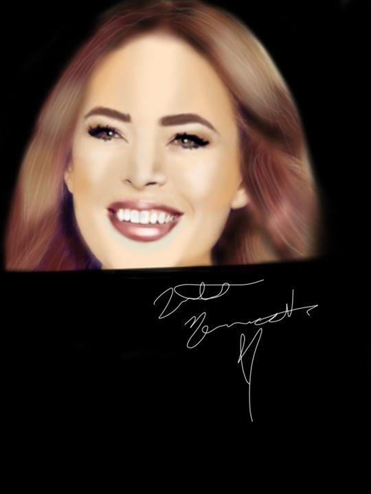 Portrait of Tanya Burr - Natalie M