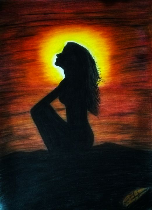 Shadow girl - SYS Art and design