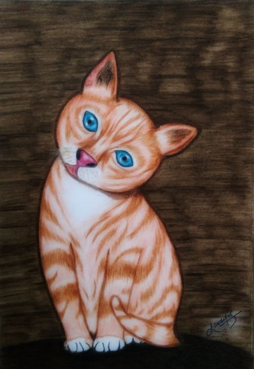 Cute cat - SYS Art and design