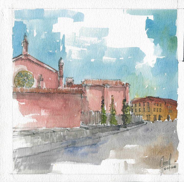 Chiesa di San Francesco - My watercolours art works