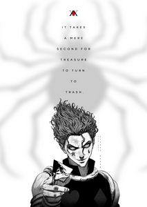Anime Poster Hunter X Hunter Hisoka