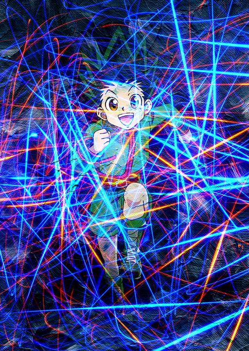 Anime Poster Hunter X Hunter Gon - Team Awesome