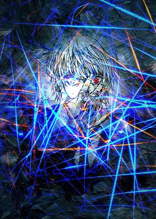 Anime Poster Hunter X Hunter Eyes - Team Awesome