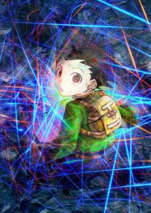 Anime Poster Hunter X Hunter Gon