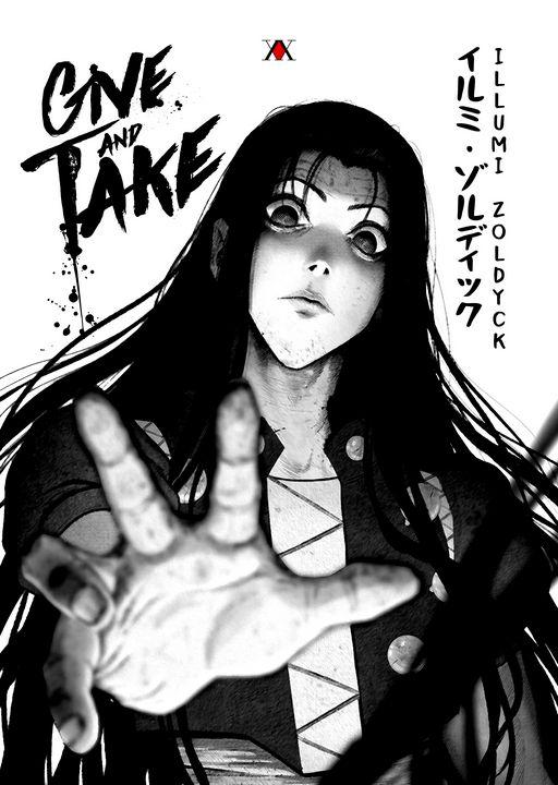 Anime Poster Hunter X Hunter Illumi - Team Awesome