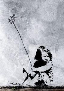 Banksy Art Poster Coronavirus - Team Awesome