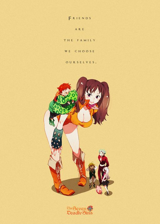 Best Anime Quotes Seven Deadly Sins - Team Awesome
