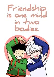 Best Anime Quotes Gon Killua Friends