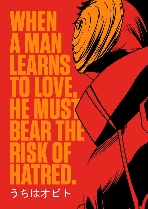 Best Anime Quotes Naruto Obito - Team Awesome