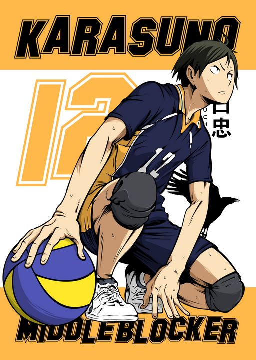 Anime Volleyball Sports Haikyuu!! - Team Awesome