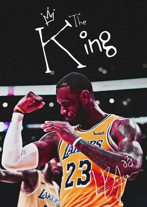 NBA Basketball Lebron James - Team Awesome