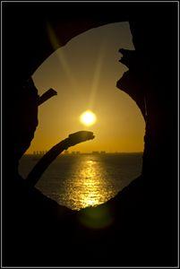 Puesta de sol en Ixchel
