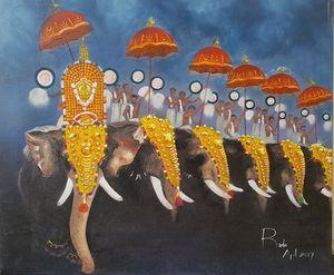 Pooram-Colors of India
