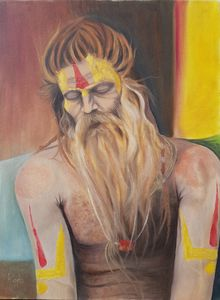 Sadhu-Contented