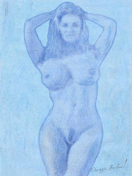 Akt Pastel - Omega Art